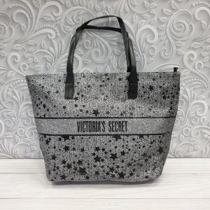 Женская сумка Victoria`s Secret Textile Star Grey