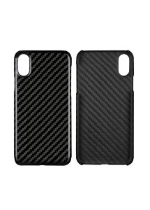 Чехол для Iphone X Carbon Black Gloss
