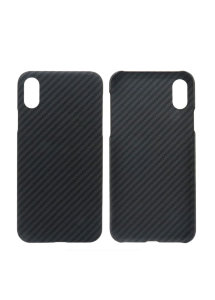 Чехол для Iphone X Carbon Black Matt