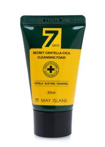 Пенка для лица May Island 7 Days Secret Centella Cica Cleansing Foam