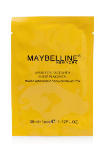 Маска для лица Maybelline Mask For Face With Sleep Placenta