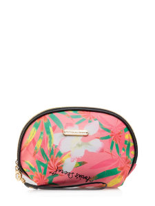Косметичка Victoria`s Secret Beautiful Flowers Crescent Coral
