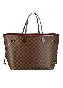 Сумка Louis Vuitton Cowhlde Leather Brown Check