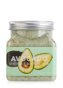 Скраб для тела Wokali Avocado Sherbet Body Scrub