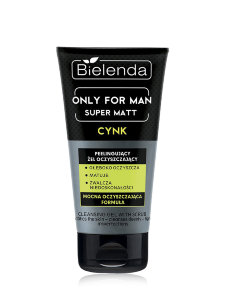 Гель-пилинг для лица Bielenda Only For Men Super Matt
