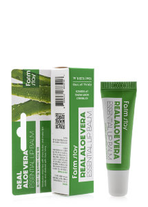 Бальзам для губ FarmStay Real Aloe Vera Essential Lip Balm