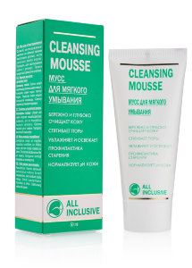 Мусс для лица All Inclusive Cleansing Mousse Green