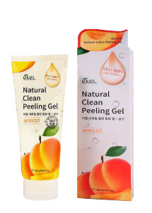 Пилинг-скатка для лица Ekel Natural Clean Peeling Gel Apricot