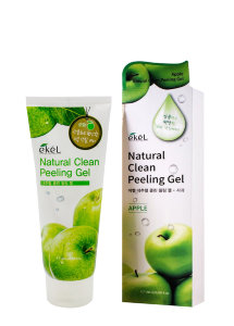 Пилинг-скатка для лица Ekel Natural Clean Peeling Gel Apple