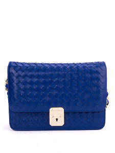 Сумка Bottega Veneta Compact Bag Blue