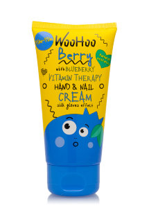 Крем для рук Woohoo Berry With Blueberry Vitamin Therapy Hand & Nail Cream