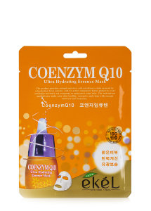 Маска для лица Ekel Coenzym Q10 Ultra Hydrating Essence Mask