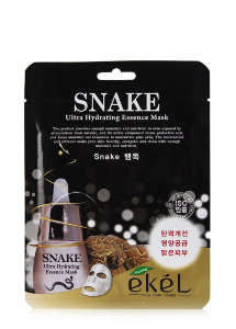 Маска для лица Ekel Snake Ultra Hydrating Essence Mask