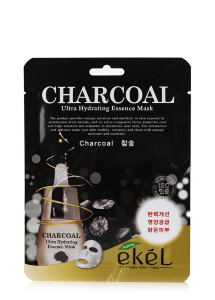 Ekel Charcoal Ultra Hydrating Essence Mask