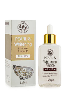 Сыворотка для лица Leiya Pearl & Whitening Moisture Ampoule All-In-One