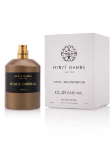 Тестер Herve Gambs Rouge Cardinal Cologne Intense