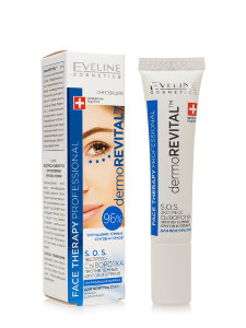 Сыворотка для контура глаз Eveline Face Therapy Professional DermoREVITAL S.O.S